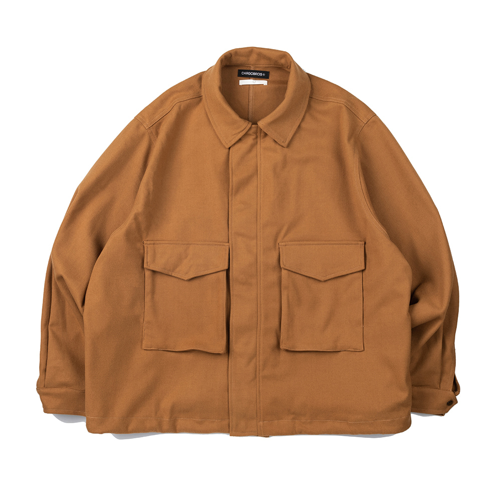 CB Basic Pocket Jacket (CAMEL)