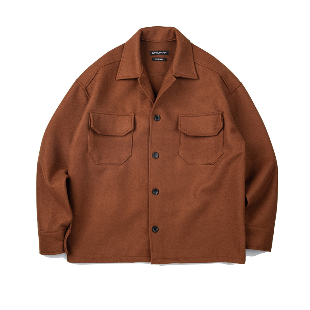 CB Wool Jacket (CAMEL)
