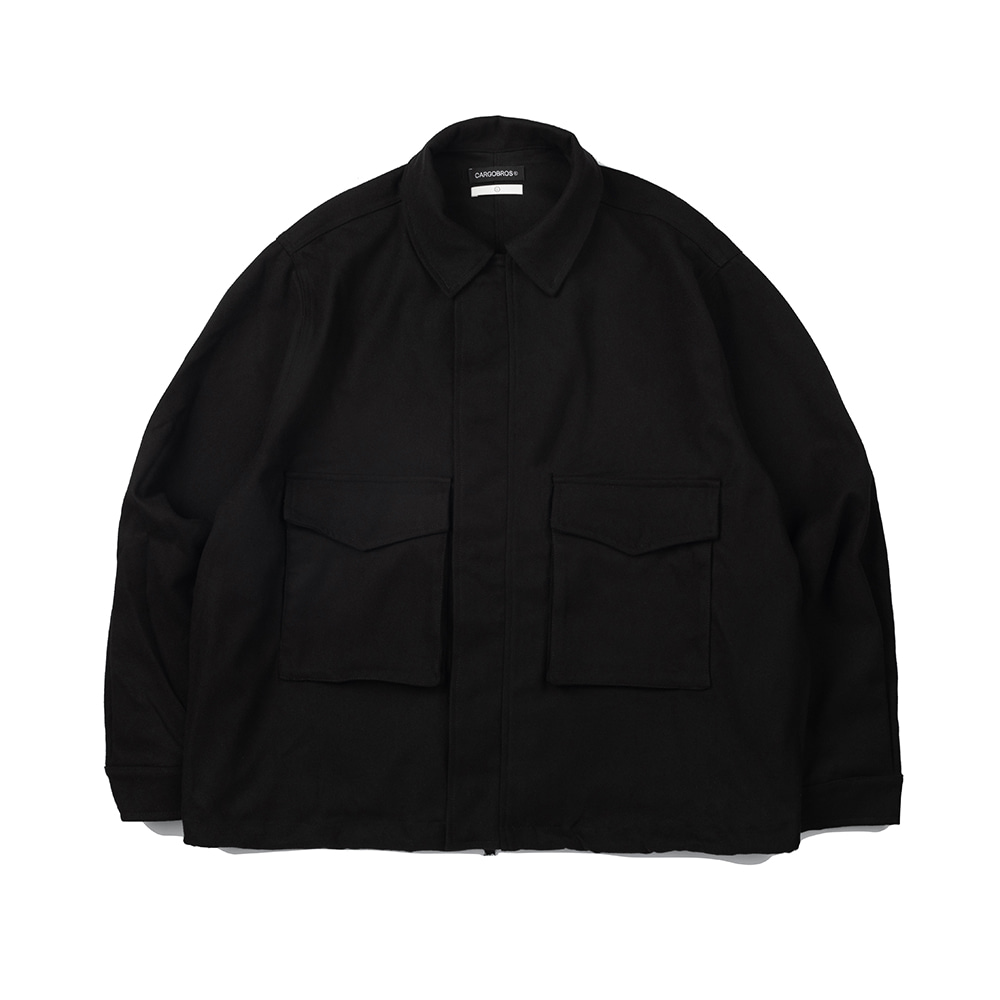 CB Basic Pocket Jacket (BLACK)