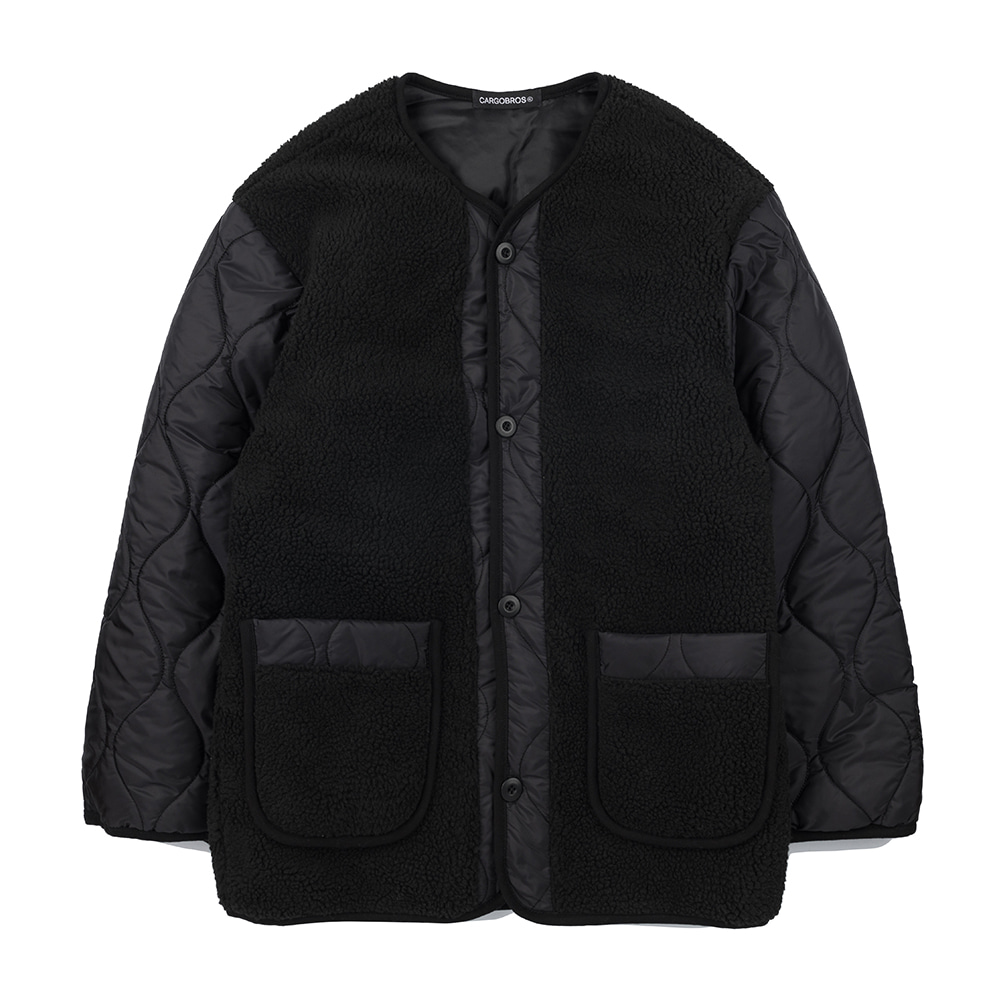 CB Fleece Jacket (BLACK)