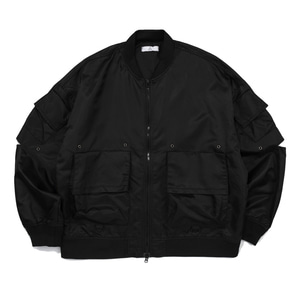 CB ACON HI TECH BLACK JACKET (BLACK)