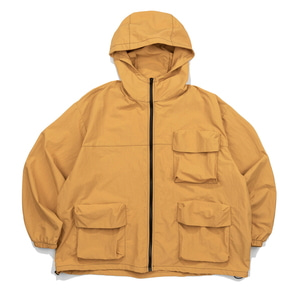 CB 3D POCKET WIND BREAKER (MUSTARD)
