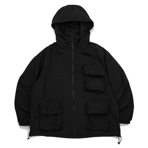CB 3D POCKET WIND BREAKER (BLACK)