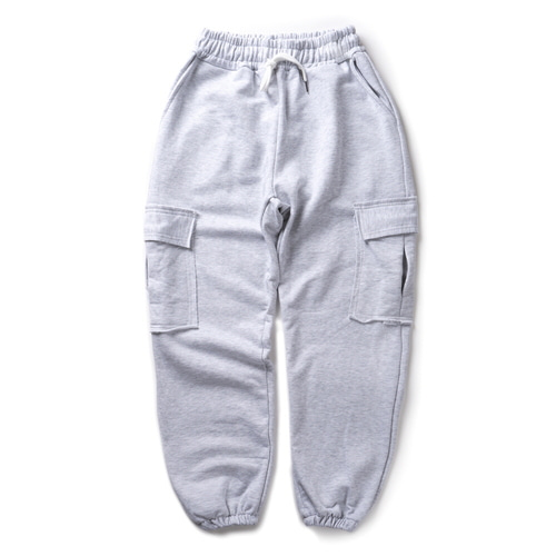 CB ACON WASHING NATURAL CUTTING CARGO PANTS (L.GRAY)