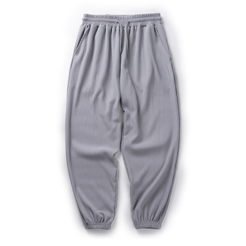 CB PLEATS JOGGER PANTS (R.GRAY)