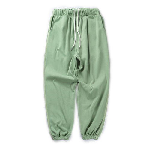 CB REVERSE STITCH JOGGER PANTS (GREEN)