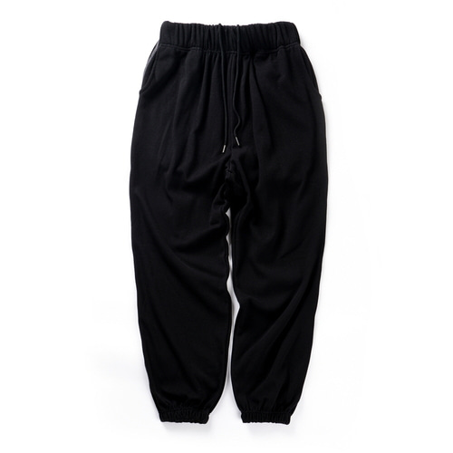 CB REVERSE STITCH JOGGER PANTS (BLACK)